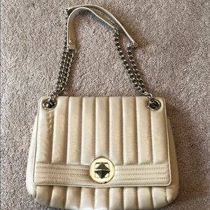 Kate spade shoulder bag with gold chain straps